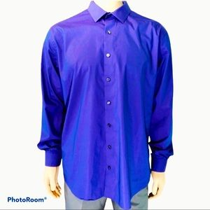 Kenneth Cole Reaction Solid Button-Down Shirt